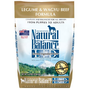 Natural Balance L.I.D. Limited Ingredient Diets® Legume & Wagyu Beef Dry Dog Formula