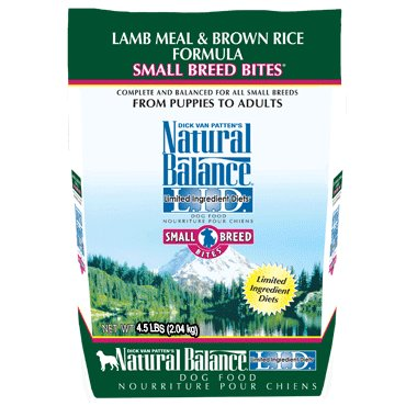 Natural Balance L.I.D. Limited Ingredient Diets® Lamb Meal & Brown Rice Small Breed Bites® Dry Dog Formula