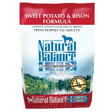 Natural Balance L.I.D. Limited Ingredient Diets® Sweet Potato & Bison Dry Dog