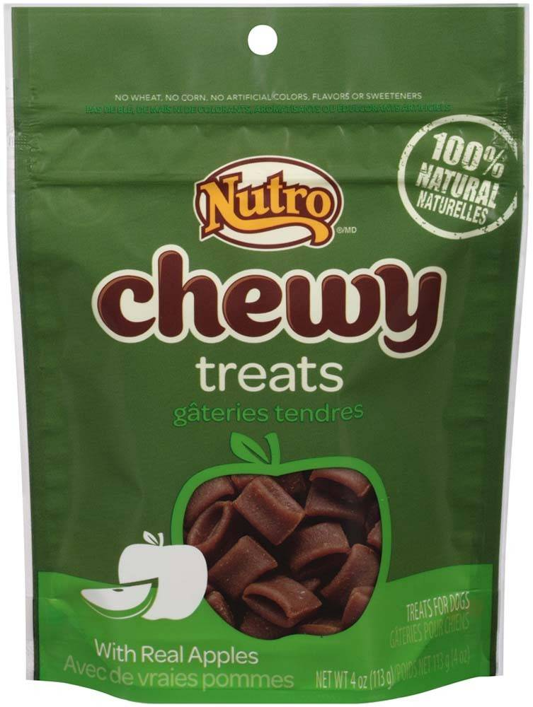 Nutro Nutro Chewy Dog Treats With Real Apples