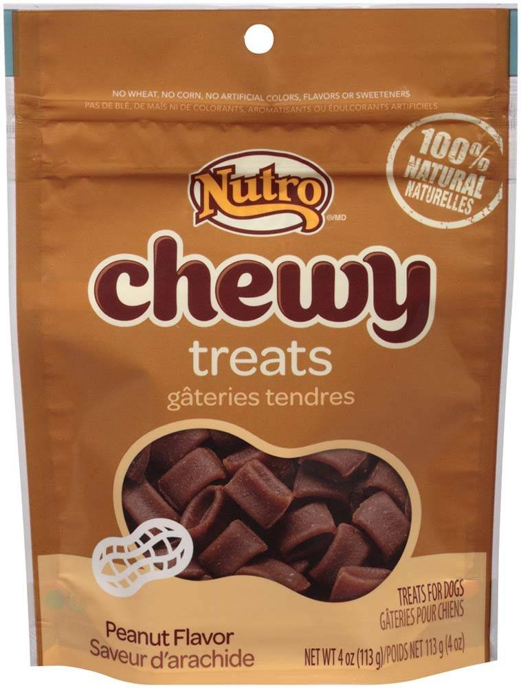 Nutro Nutro Chewy Dog Treat Peanut Flavor