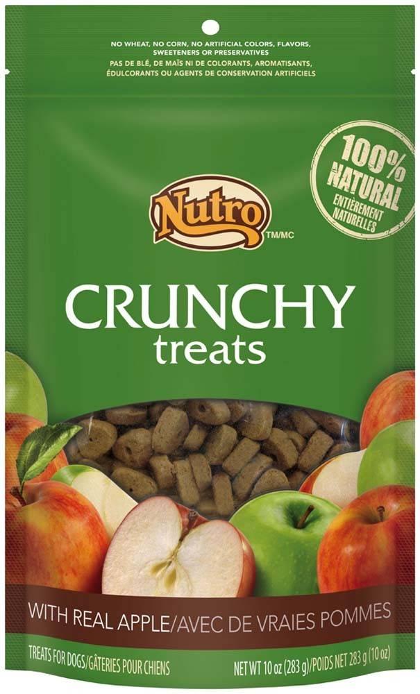 Nutro Nutro Crunchy Dog Treat Apple 10 oz.
