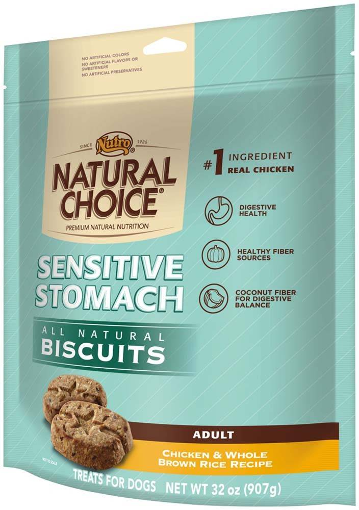 Nutro Nutro Sensitive Stomach Dog Biscuit 32 oz