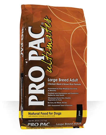 Pro Pac Pro Pac Large Breed Chicken & Brown Rice Dry Dog Food