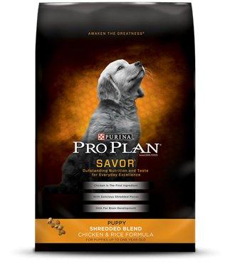 Pro Plan Pro Plan Savor Shredded Blend Chicken & Rice Dry Dog Food