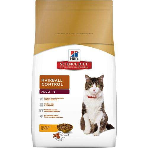 Science Diet Hill's® Science Diet® Adult Hairball Control for Cats