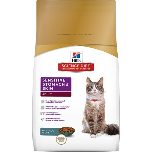 Science Diet Hill's® Science Diet® Adult Sensitive Stomach & Skin for Cats