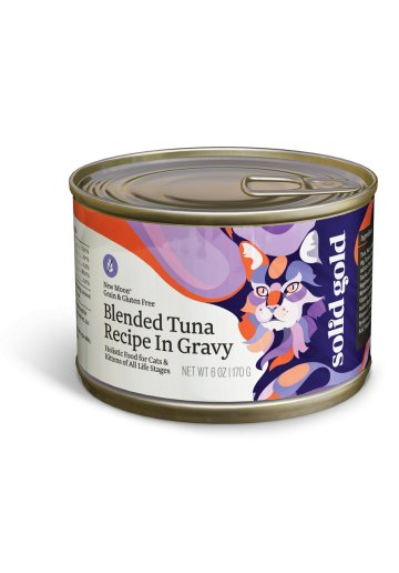 Solid Gold New Moon™ Blended Tuna Recipe in Gravy