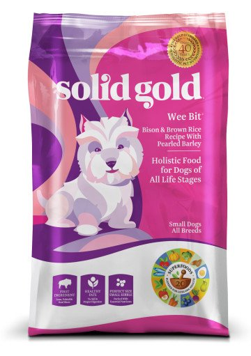 Solid Gold Wee Bit™ With Bison Bison & Brown Rice Recipe With Pearled Barley for Dogs