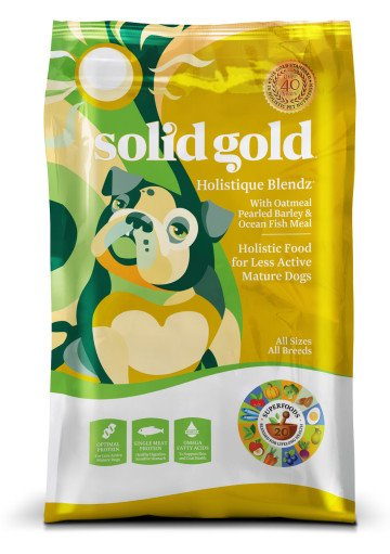 Solid Gold Holistique Blendz® With Ocean Fish Meal With Oatmeal, Pearled Barley & Ocean Fish Meal for Dogs