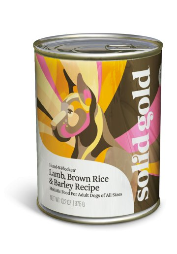 Solid Gold Hund-N-Flocken® Lamb, Brown Rice & Barley Recipe for Dogs