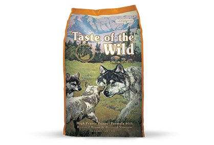 Taste of the Wild High Prairie Puppy® Formula with Roasted Bison & Roasted Venison for Dogs