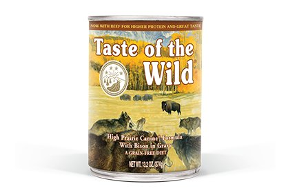 Taste of the Wild High Prairie Canine® Formula with Bison in Gravy for Dogs