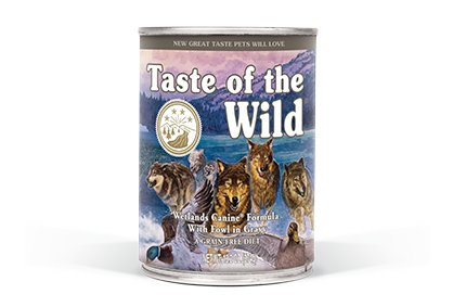 Taste of the Wild Wetlands Canine® Formula with Fowl in Gravy for Dogs