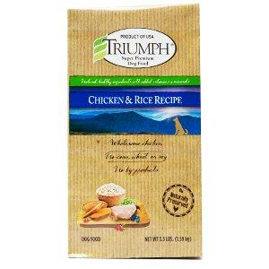 Triumph Triumph Chicken & Rice Recipe Dog Food