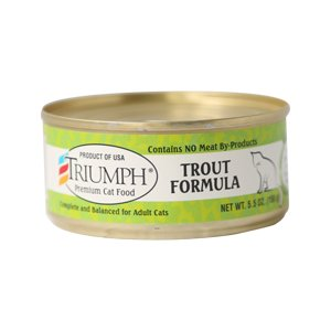 Triumph Triumph Trout Formula Cat Food