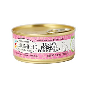 Triumph Triumph Turkey Formula Kitten Food