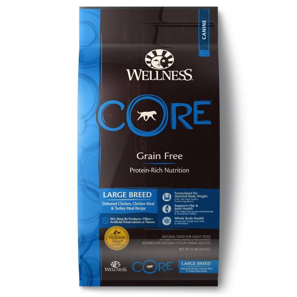 Wellness - Core Wellness Core® Grain Free Formula for Large Breed Dogs