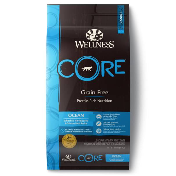 Wellness - Core Wellness Core® Grain Free Dry Formula Ocean Recipe for Dogs