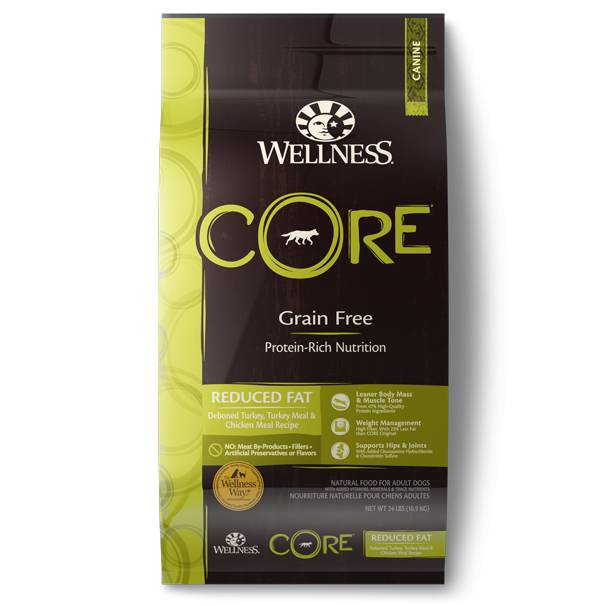 Wellness - Core Wellness Core® Grain Free Dry Formula Reduced Fat