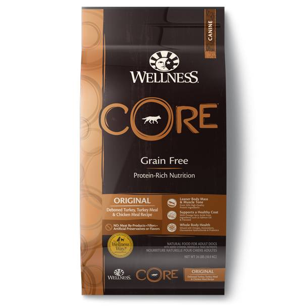 Wellness - Core Wellness Core® Grain Free Dry Formula Original Recipe for Dogs