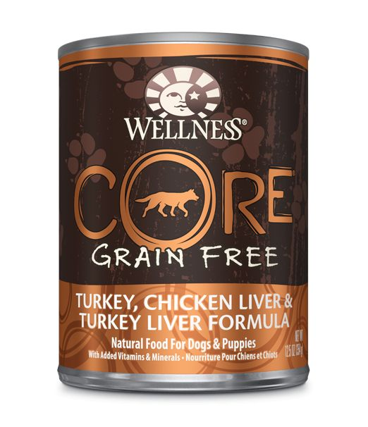 Wellness - Core Wellness Core® Wet Formula with Turkey, Chicken Liver and Turkey Liver for Dogs