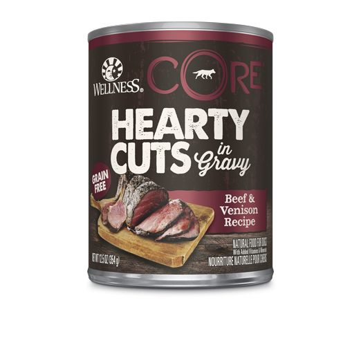 Wellness - Core Wellness Core® Hearty Cuts in Gravy Beef and Venison for Dogs