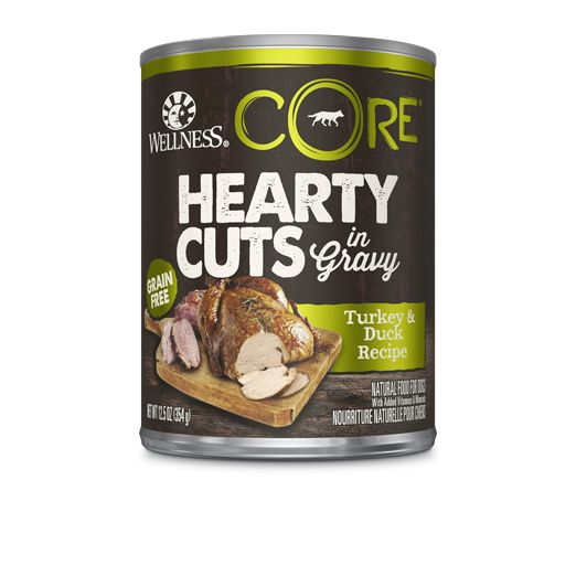 Wellness - Core Wellness Core® Hearty Cuts in Gravy- Turkey and Duck for Dogs