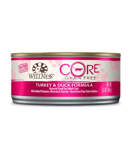 Wellness - Core Wellness Core® Wet Formula with Turkey and Duck for Cats