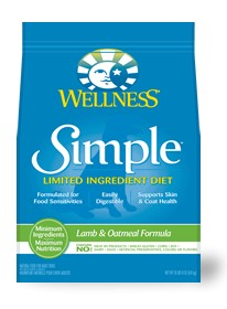 Wellness - Simple Wellness Simple Lamb and Oatmeal Recipe for Dogs