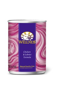 Wellness - Complete Health Wellness Complete Health Chicken and Lobster Canned Recipe for Cats