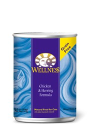 Wellness - Complete Health Wellness Complete Health Chicken and Herring Canned Recipe for Cats