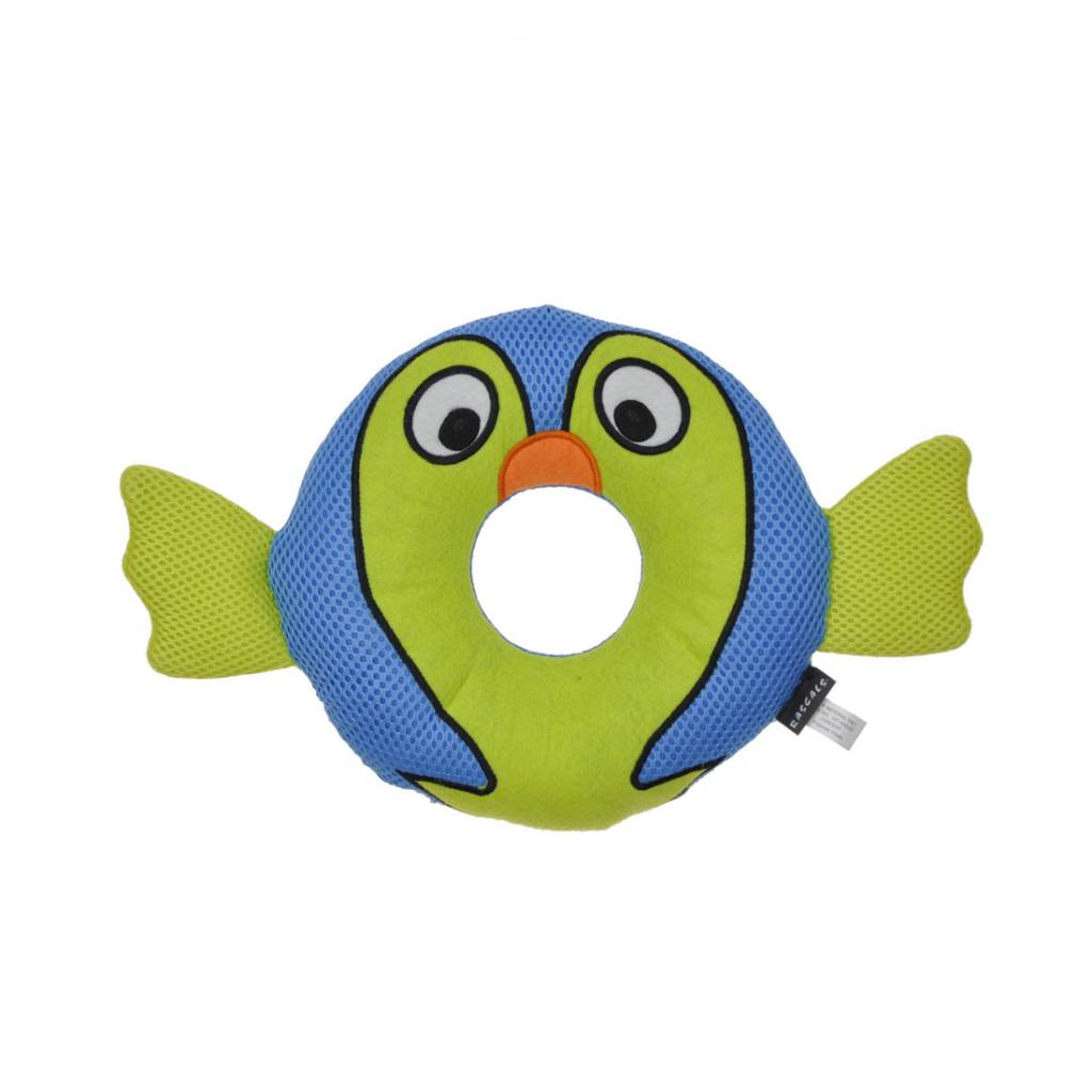 Rascals Rascals Rugged Ringers - Barney Blowfish Dog Toy