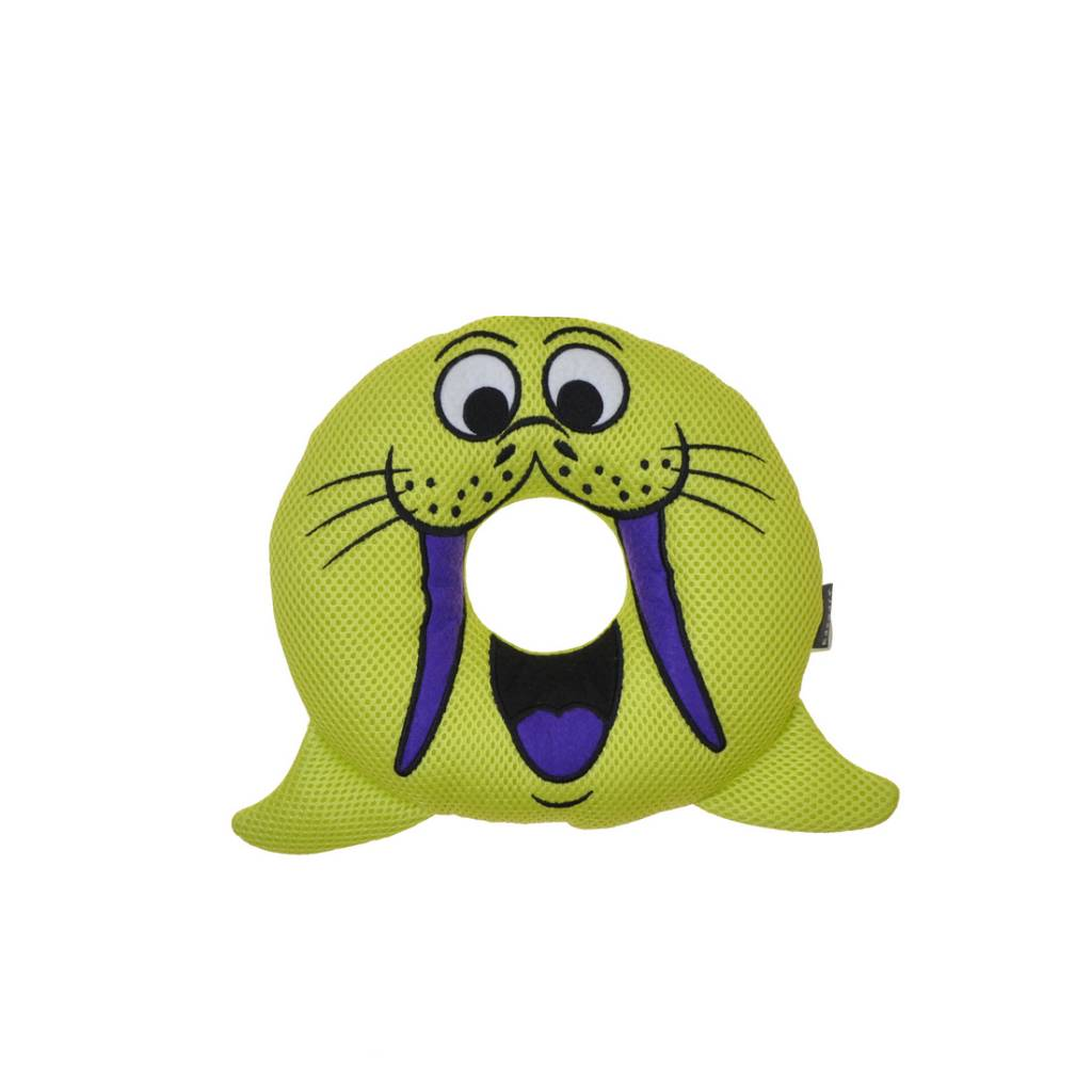 Rascals Rascals Rugged Ringers - Willa Walrus Dog Toy