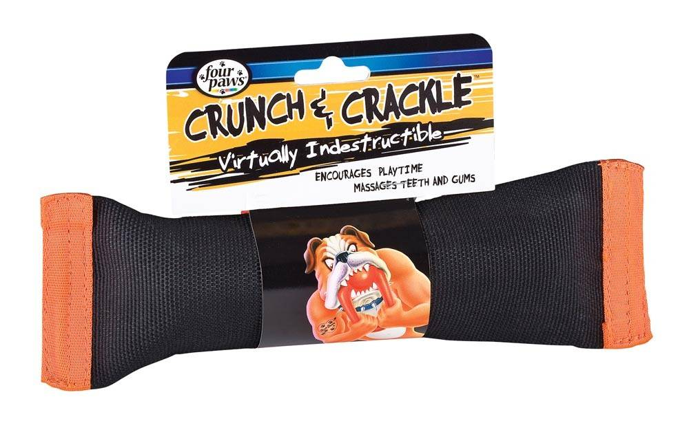Four Paws Four Paws Crunch & Crackle Dog Toy