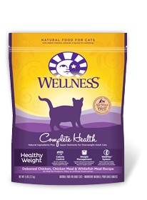 Wellness - Complete Health Wellness Complete Health Healthy Weight Deboned Chicken, Chicken Meal & Whitefish Recipe for Cats