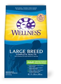 Wellness - Complete Health Wellness Complete Health Large Breed Adult Deboned Chicken & Brown Rice Recipe for Dogs