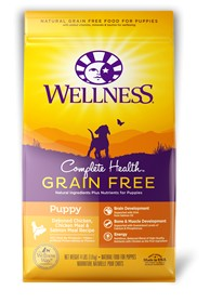 Wellness - Complete Health Wellness Complete Health Grain Free Deboned Chicken, Chicken Meal & Salmon Meal Recipe for Puppies