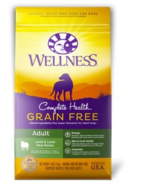 Wellness - Complete Health Wellness Compelte Health Grain Free Adult Lamb & Lamb Meal Recipe for Dogs
