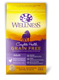 Wellness - Complete Health Wellness Complete Health Grain Free Adult Deboned Chicken & Chicken Meal Recipe for Dogs