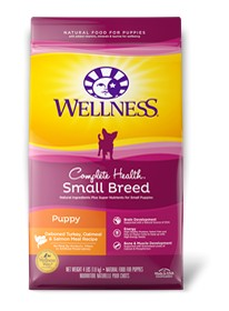 Wellness - Complete Health Wellness Complete Health Small Breed Turkey, Oatmeal & Salmon Meal Recipe for Puppies