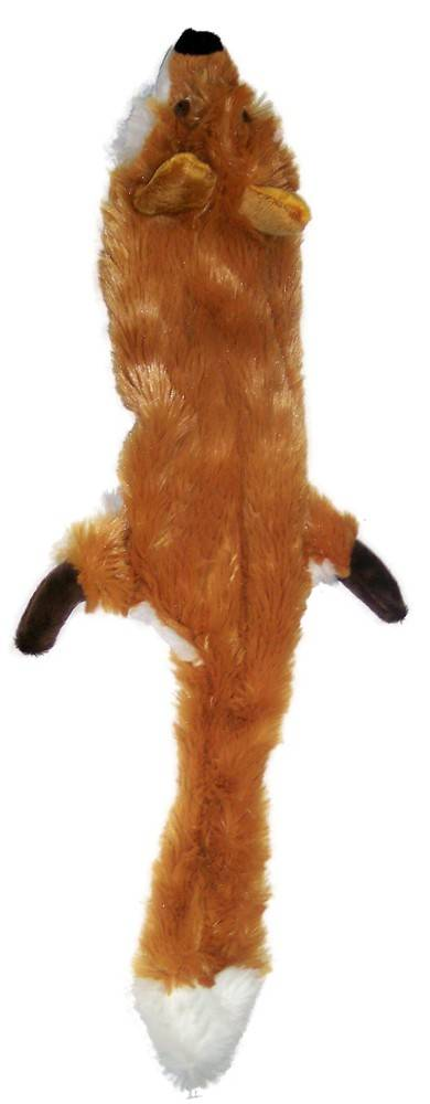 Ethical (Spot) Spot Plush Skinneeez Regular Fox Dog Toy