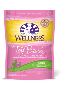 Wellness - Complete Health Wellness Complete Health Toy Breed Adult Deboned Chicken, Brown Rice & Peas Recipe for Dogs