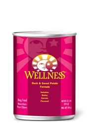 Wellness - Complete Health Wellness Complete Health Duck & Sweet Potato Canned Recipe for Dogs