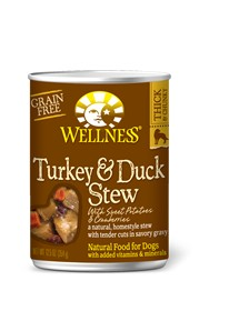Wellness - Complete Health Wellness Stews Turkey & Duck with Sweet Potatoes & Cranberries for Dogs