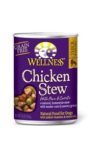 Wellness - Complete Health Wellness Stews Chicken with Peas & Carrots for Dogs