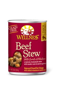 Wellness - Complete Health Wellness Stew Beef with Carrots & Potatoes for Dogs
