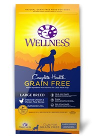 Wellness - Complete Health Wellness Complete Health Grain Free Large Breed Adult Deboned Chicken & Chicken Meal Recipe for Dogs