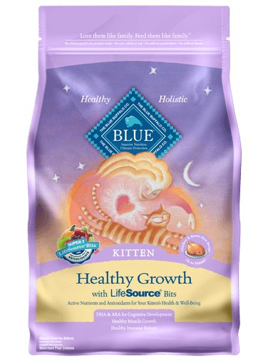 Blue - LPF BLUE™ Healthy Growth Chicken & Brown Rice Recipe For Kittens