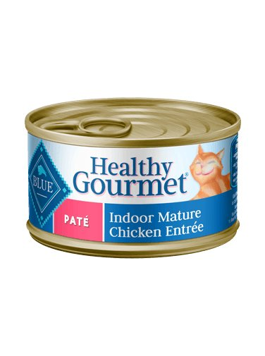 Blue - LPF BLUE Healthy Gourmet® Indoor Chicken Entrée For Mature Cats